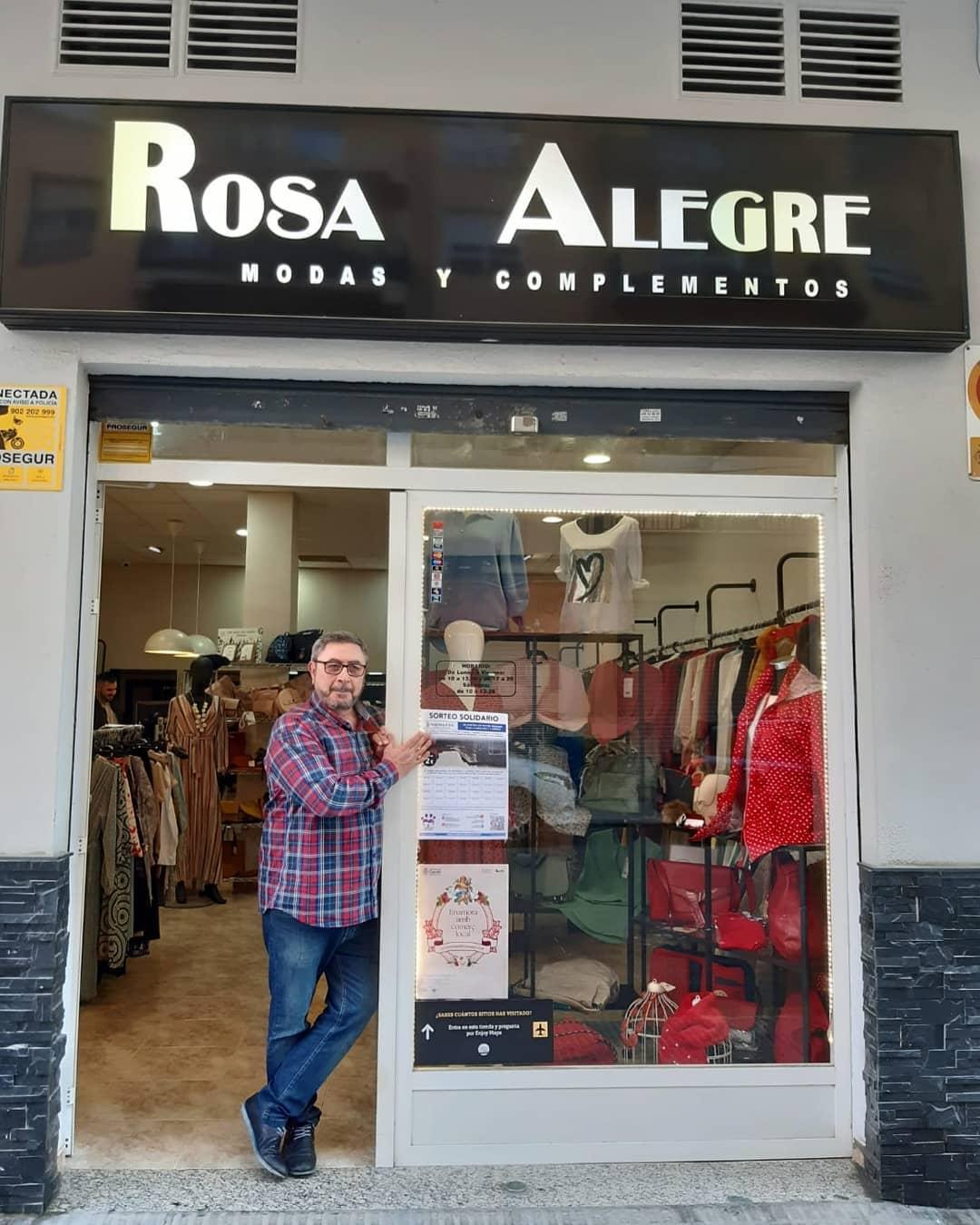 Angel en Rosa Alegre